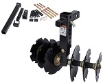 Groundhog Max Bad Boy ATV UTV Plow Implement with Hitch Kit Bad Dawg