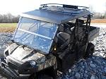 Polaris Ranger XP800 2010-2014 Bad Dawg Front Full Folding Windshield