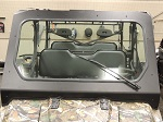 Polaris Ranger XP800 2010-2014 Bad Dawg DOT Glass Front Windshield w/ Wiper