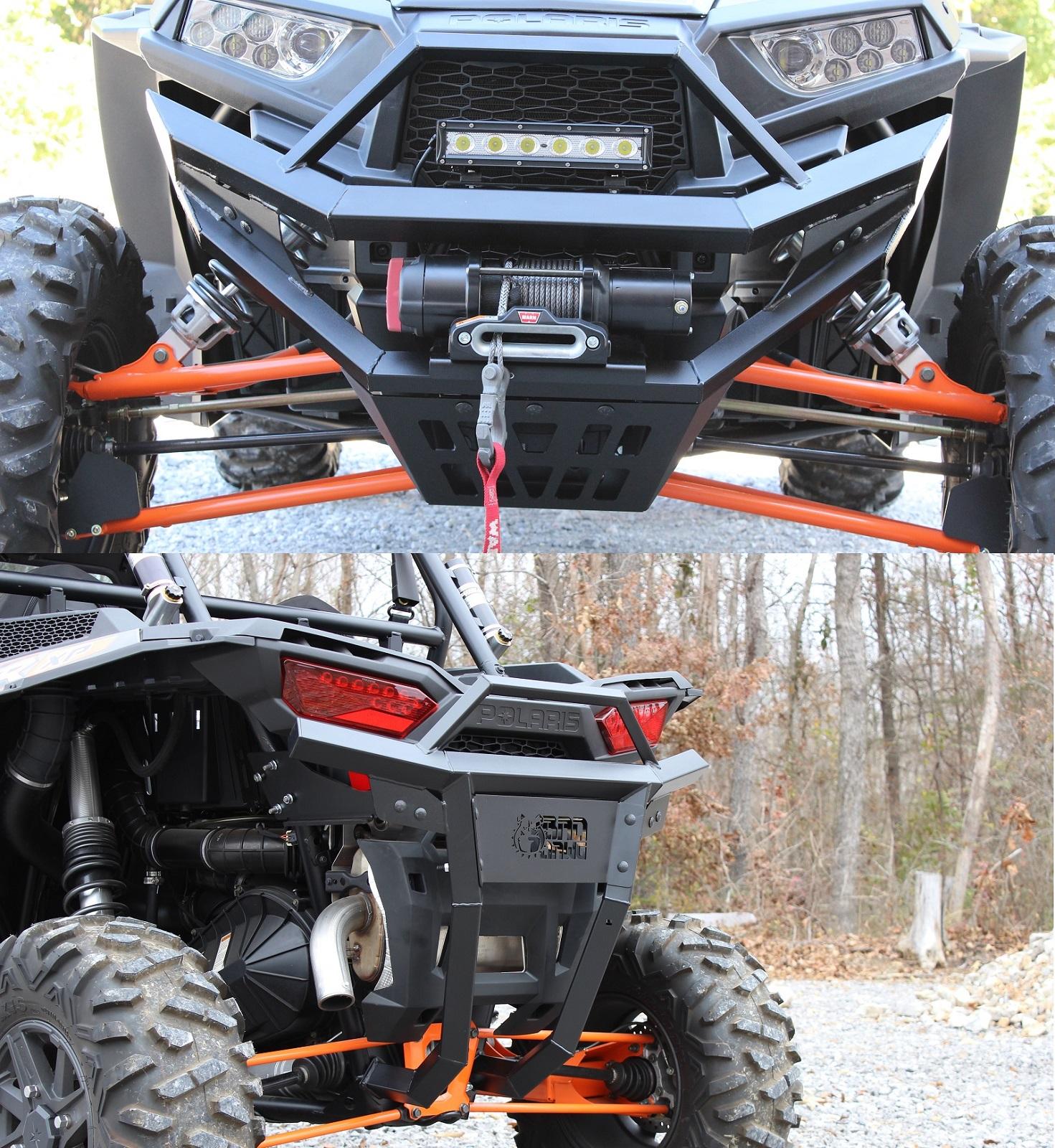 Polaris RZR XP1000 RZR4 XP1000 XP1K 2014-2018 Bad Dawg Custom Rear Bumper