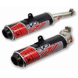 Big Gun EVO U Dual Slip On Exhaust for Arctic Cat Prowler 1000 2009-2013 12-5672