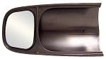 CIPA 10300 Custom ABS Towing Mirror Plastic Black | Select Dodge Ram / Dakota