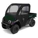 UTV Cab Enclosure Black   Kawasaki Mule 4000 4010 Models