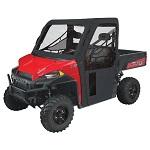 UTV Cab Enclosure Black   Polaris Ranger 2013-2018 570 900 1000 Fullsize Models