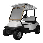 Classic Accessories Deluxe Roll Up Front Instant Vinyl Golf Cart Windshield Cover