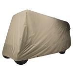 Classic Accessories Fairway 6 Person Golf Cart Quick-Fit Storage Cover | Khaki