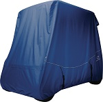 Classic Accessories Fairway 2 Person Golf Cart Quick-Fit Storage Cover | Navy