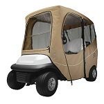 """Deluxe Golf Cart Enclosure Cover 2 Two Person for Roofs up to 68"""" Long 