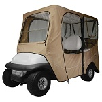 "Deluxe Golf Cart Enclosure Cover 4 Four Person for Roofs up to 80"" Long 