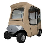 Yamaha Drive G29 2007-Up Golf Cart Deluxe FadeSafe Cab Enclosure | Khaki