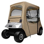 EZGO TXT RXV 1994-Up Golf Cart Deluxe FadeSafe Cab Enclosure | Khaki