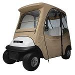 Club Car Precedent 2004-Up 2 Person Golf Cart Deluxe Cab Enclosure | Khaki