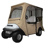 Club Car Precedent i2 2004-Up 4 Person Golf Cart Deluxe Cab Enclosure | Khaki