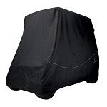 Classic Accessories Fairway 2 Person Golf Cart Quick-Fit Storage Cover | Black