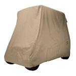 Classic Accessories Fairway Conversion Golf Cart Quick-Fit Storage Cover | Khaki