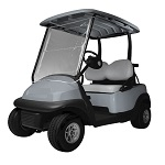 Classic Accessories Roll Up Front Instant Vinyl Golf Cart Windshield Cover | 72033