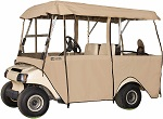 Classic Accessories Fairway 4 Person Deluxe 4-Sided Golf Cart Enclosure | 72472