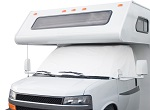 RV Motorhome Windshield Cover Ford 1992-2003 Models - White | 78684