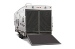 Toy Hauler Rear Door Screen for Steel Framed Trailers | 79994