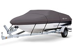 Storm Pro Boat Cover 17-19 ft V-Hull Runabout Boats | Beam Width to 102""