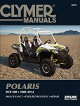 Polaris RZR 800 2008-2014 Maintenance Service Repair Shop Manual | Clymer M292
