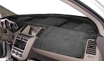 Chevrolet Chevette 1976-1987 No AC Velour Dash Cover Mat Charcoal Grey