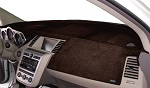 Dodge Challenger 2015-2019 Velour Dash Board Cover Mat Dark Brown