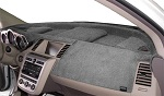 Chevrolet Chevette 1976-1987 No AC Velour Dash Cover Mat Grey