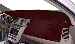 Chevrolet Chevette 1976-1987 No AC Velour Dash Cover Mat Maroon