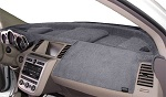 Chevrolet Chevette 1976-1987 No AC Velour Dash Cover Mat Medium Grey
