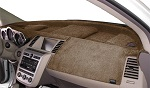 Chevrolet Chevette 1976-1987 No AC Velour Dash Cover Mat Mocha