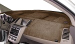 Chevrolet Chevette 1976-1987 No AC Velour Dash Cover Mat Oak