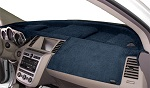 Cadillac DTS 2006-2011 No Park Assist Velour Dash Cover Mat Ocean Blue