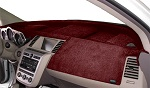 Chevrolet Chevette 1976-1987 No AC Velour Dash Cover Mat Red
