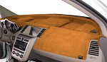 Chevrolet Chevette 1976-1987 No AC Velour Dash Cover Mat Saddle