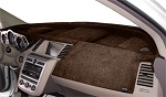 Fits Kia Stinger 2018-2019 No HUD Velour Dash Board Cover Mat Taupe