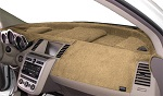 Cadillac DTS 2006-2011 No Park Assist Velour Dash Cover Mat Vanilla