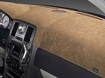 Fiat 500e Electric 2016-2018 Brushed Suede Dash Board Cover Mat Oak