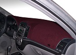 Chevrolet Chevette 1976-1987 No AC Carpet Dash Cover Mat Maroon