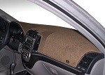 Fiat 500e Electric 2016-2018 Carpet Dash Board Cover Mat Mocha