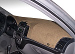 Chevrolet Chevette 1976-1987 No AC Carpet Dash Cover Mat Vanilla