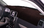 Chrysler Lebaron GTS 1985-1988 Sedona Suede Dash Board Cover Mat  Black