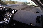 Chrysler Lebaron GTS 1985-1988 Sedona Suede Dash Board Cover Mat  Charcoal Grey
