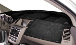 Chevrolet Chevette 1976-1987 No AC Velour Dash Cover Mat Black