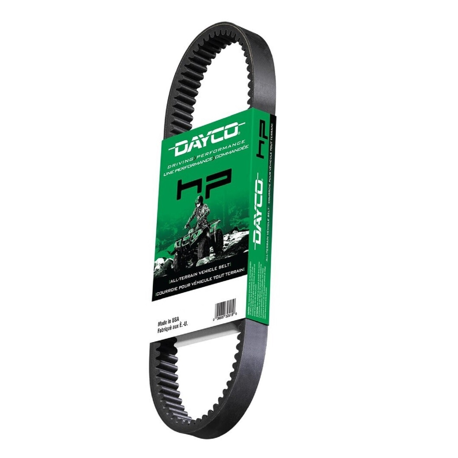Dayco HP2032 HP High Performance ATV//UTV Drive Belt