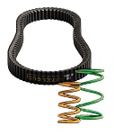 EZGO Golf Cart 1994-2012 Clutch Kit Severe Duty Belt | w/ OS Tires
