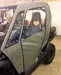 Can Am Commander Door Side Cab Enclosure Doors Custom Made Grey