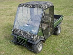 Kawasaki Mule 2500 2510 UTV Full Cabin Cab Enclosure - Custom Made to Order