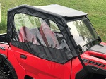 Polaris General 2016-2019 Soft Vinyl Side Door Upper Enclosures Custom | Black
