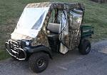 Kawasaki Mule 3010 Transport Full Cabin Cab Enclosure | Custom Made to Order